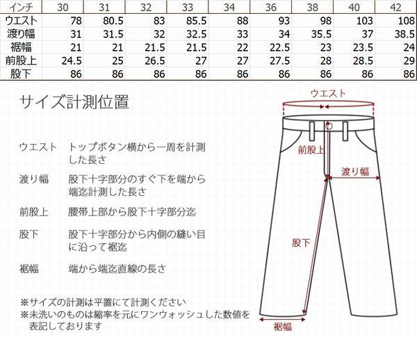 KOJIMA GENES 児島ジーンズ セルビッチヴィンテージデニム 18oz レフトハンドツイル  RNB-1004L