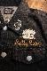 The BRAVE-MAN×BETTY BOOP ベティブープ BBB-2044 スカGジャン BETTY BOOP 90th Anniversary ブラック
