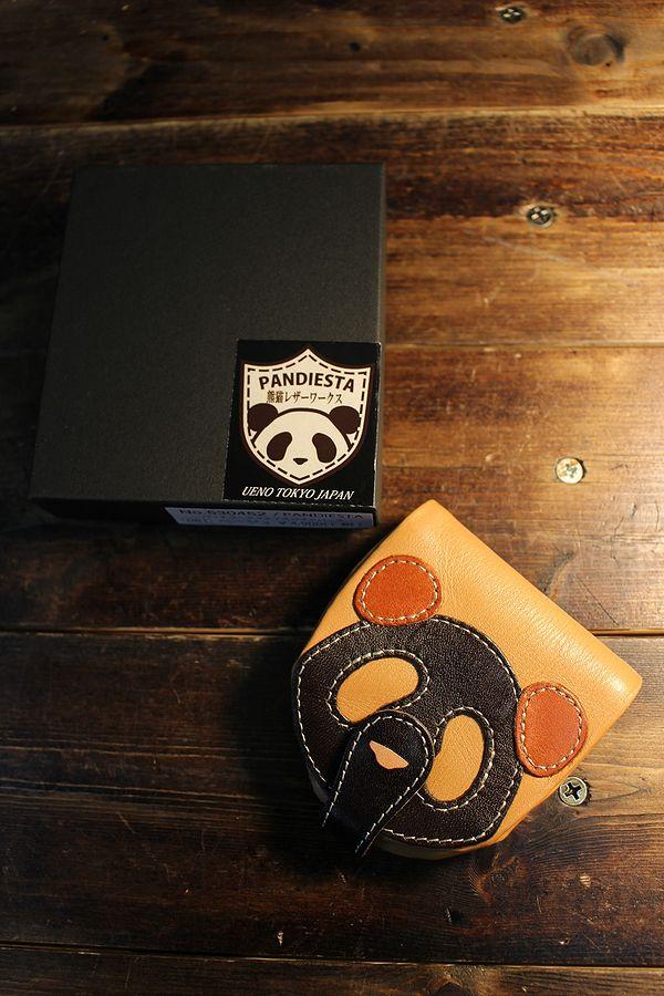 PANDIESTA JAPAN 熊猫謹製 パンディエスタ 530452 パッチワークフェイスコインパース 小銭入れ