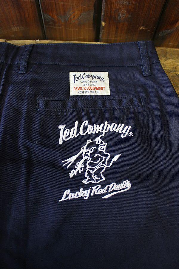 TEDMAN(テッドマン) DEVIL-SP800 チノショートパンツ ネイビー