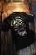 VANSON バンソン NVPS-2106 天竺半袖ポロシャツ 刺繍ワンスター ブラック