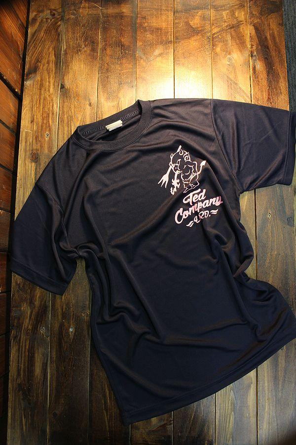 エフ商会 TEDCOMPANY TEDMAN(テッドマン) TDRYT-700 ドライTシャツ ネイビー