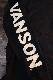VANSON×Tom and Jerry トムとジェリーコラボ TJV-2025 天竺ロンTee 長袖Tシャツ ブラック