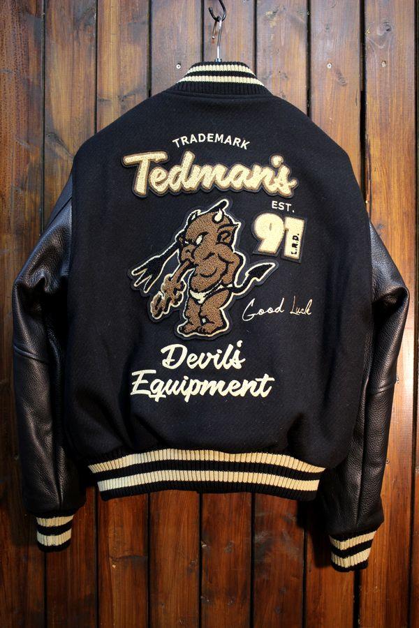 エフ商会 TEDMAN(テッドマン) TEDMAN シリアルナンバー付き 限定250着 TDJ-19000 スタジアムジャケット
