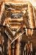 KOJIMA GENES 児島ジーンズ RNB-2014 アズテックパターンオープンシャツ ブラウン