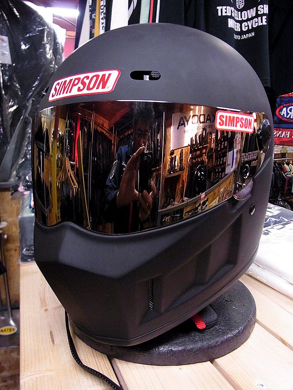 《シールドサービス》シンプソンヘルメット スーパーバンディット13 《SIMPSON SB13》