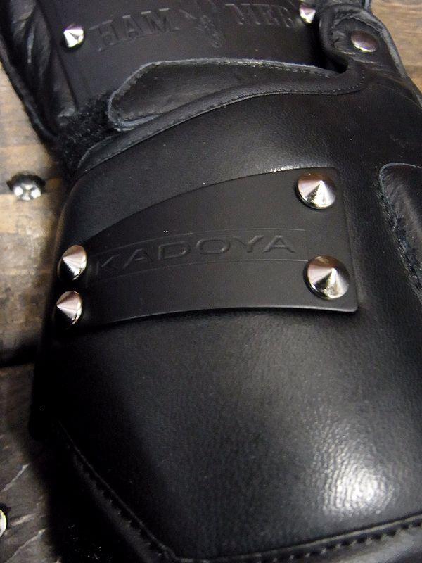 カドヤ(KADOYA)ゴッドスピード HAMMER GLOVE-GAUNTLET ハンマーグローブガントレット ウインターグローブ ブラック/ブラック