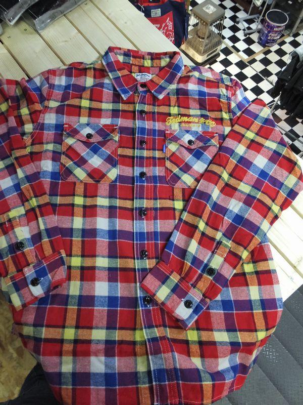 エフ商会 TEDMAN(テッドマン) TNS-500 チェックフランネルシャツ