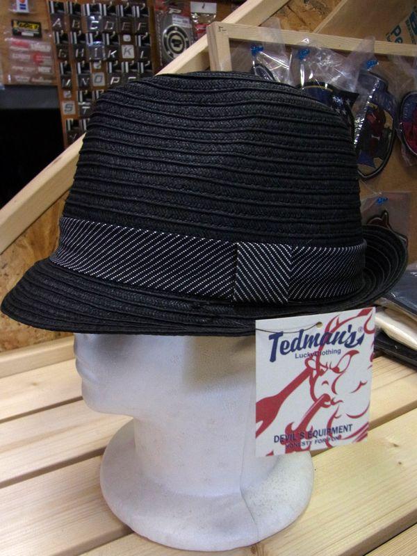 エフ商会 TEDMAN(テッドマン) TDH-100 ストロー風ハット