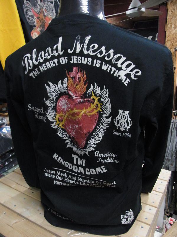 エフ商会 BLOOD MESSAGE BLLT-880 ロングスリーブTシャツ