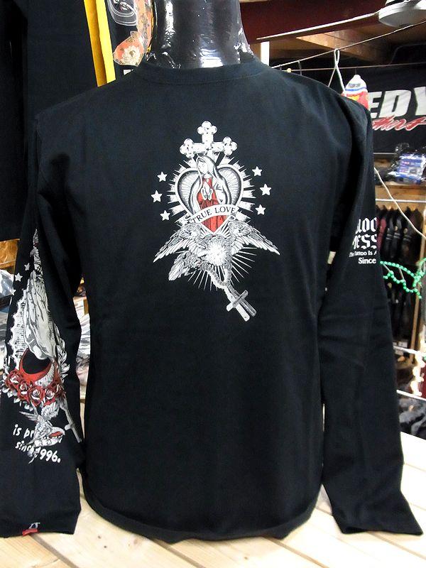 エフ商会 BLOOD MESSAGE BLLT-890 ロングスリーブTシャツ 長袖Tシャツ ロンT