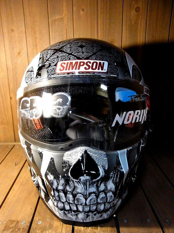 SIMPSON シンプソンヘルメット SSB13 限定400個 スカレイプス