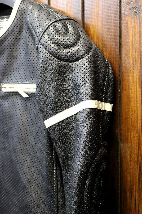 KADOYA (カドヤ) K'S LEATHER   PLーSP パンチング シングルライダース レザージャケット 革ジャン