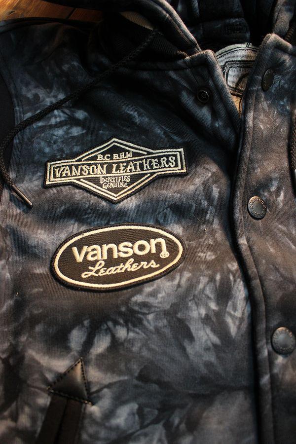 VANSON×Looney Tunes バンソン×ルニーテューンズ LTV-930 ボンディングスタジャン トゥイティー タイダイ