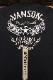 VANSON バンソン NVLT-2115 天竺ロンTee 刺繍長袖Tシャツ メンズ ロンT フライングスター ブラック