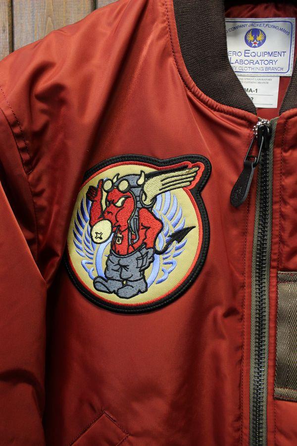エフ商会 TEDCOMPANY テッドマン TEDMAN MA-1 TMA-480 フライトジャケット 飛行機乗り ワイン
