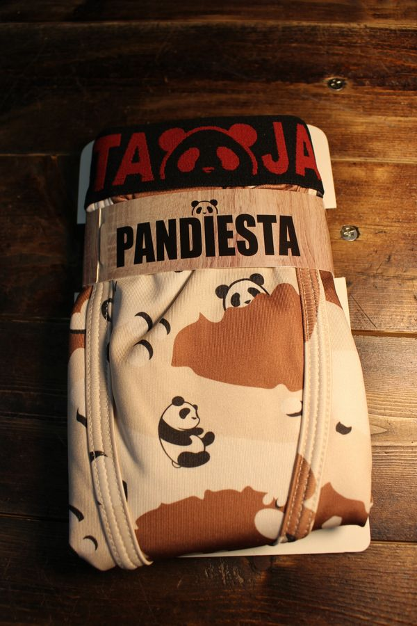 PANDIESTA JAPAN 熊猫謹製 パンディエスタ 530866 ボクサーパンツ デザートカモ