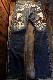 THE BRAVEMAN×BETTY BOOP ベティ・ブープ BBB-2123 刺繍デニムパンツ インディゴ