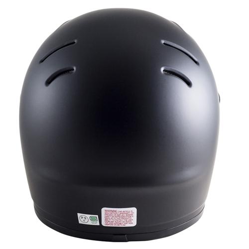 シールドサービス!シンプソンヘルメット アウトロー 《SIMPSON OUTLAW》 マットブラック