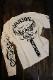 VANSON バンソン NVLT-2115 天竺ロンTee 刺繍長袖Tシャツ メンズ ロンT フライングスター オフホワイト