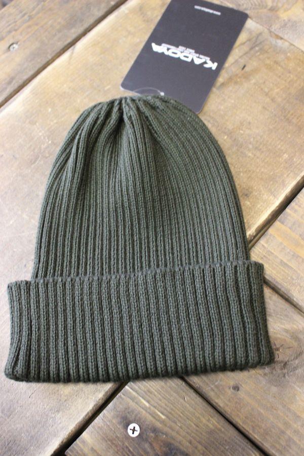 カドヤ(KADOYA)  SUMMER KNIT CAP サマーニットキャップ