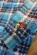 CLAY SMITH クレイスミス CSY-9506 BOZOMAN 防風インナーウェア チェックシャツ ブルー