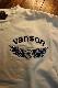 VANSON バンソン NVLT-2014 ベア天ロンTee エンボスプリント 長袖Tシャツ オフホワイト