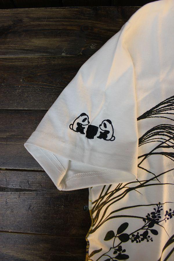 PANDIESTA JAPAN パンディエスタ 551206 十五夜パンダTee ホワイト