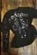 VANSON バンソン nvlt-2125 エンボスプリント メンズ ロンT スカル ボーン ブラック/ガンメタル