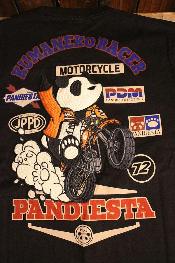 PANDIESTA JAPAN パンディエスタ 熊猫レーサーロンT 598852