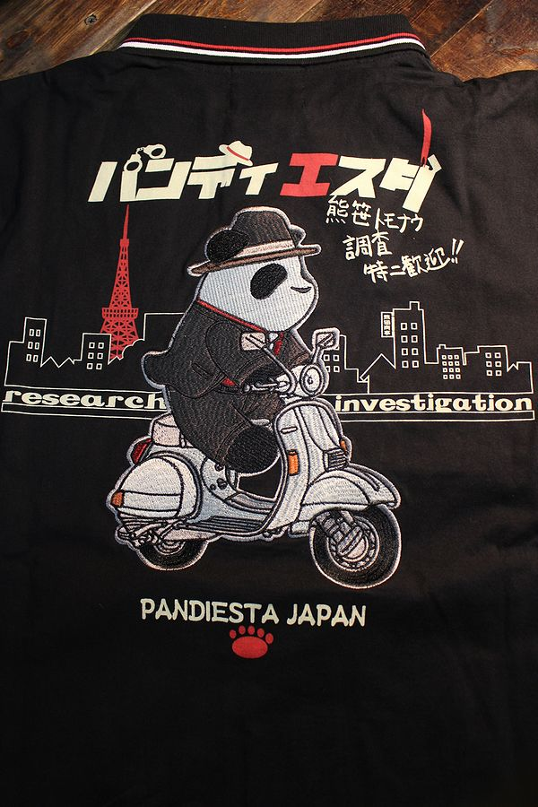 PANDIESTA JAPAN パンディエスタ 520215 探偵パンダポロ 探偵物語? ベスパ ブラック