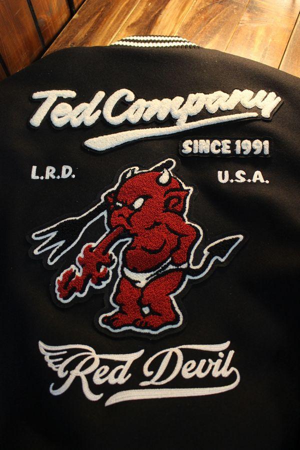 TEDCOMPANY エフ商会 TEDMANテッドマン 100着限定 TDJ-21000 スタジアムジャケット シリアルナンバー付き