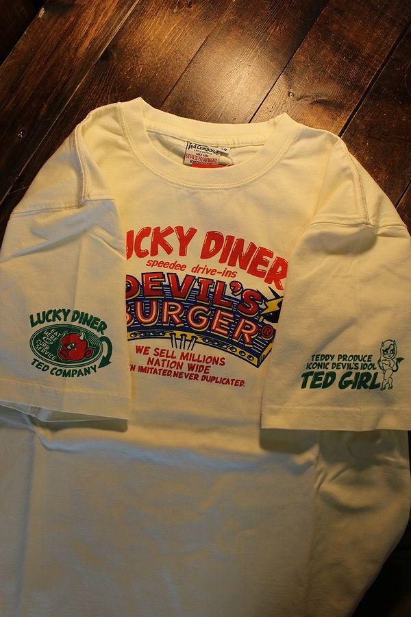 エフ商会 TEDMAN テッドマン TDSS-524 テッドガール コットンTee Tシャツ オフホワイト
