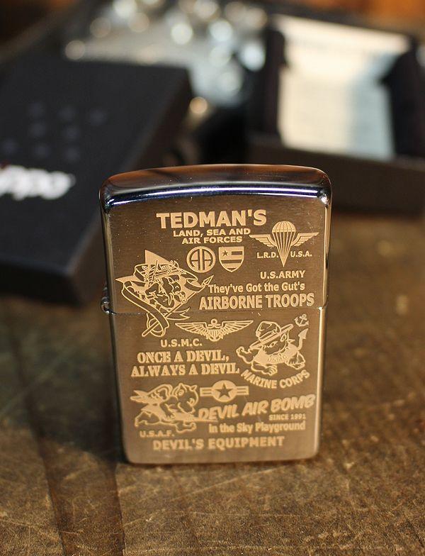 エフ商会 TEDMAN(テッドマン) ZIPPOライター tdz-019