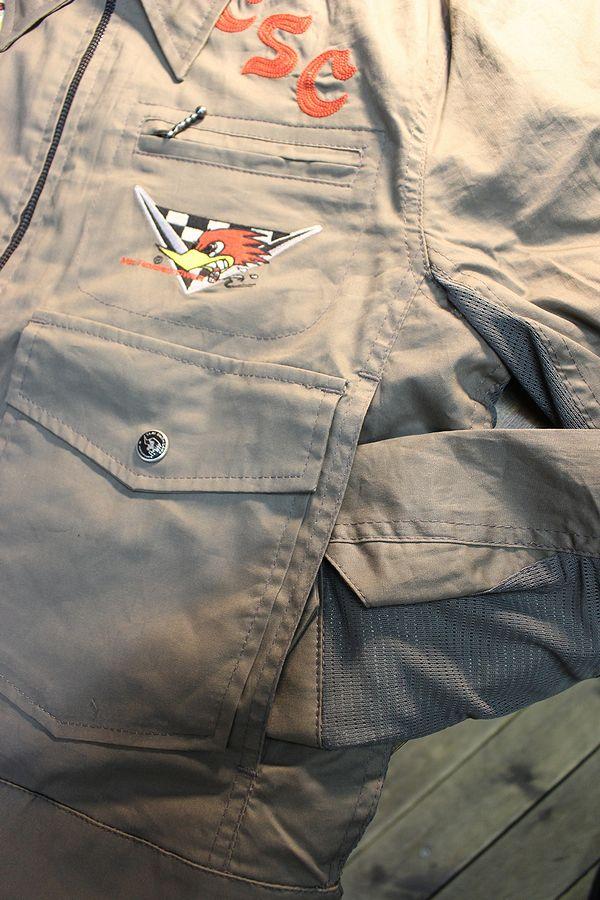 CLAY SMITH(クレイスミス) CSY-0601 GARTER ワークジャケット グレー