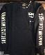 VANSON バンソン NVLT-2023 天竺ロンTee チェーン刺繍 胸ポケット付き 長袖Tシャツ ブラック