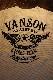 VANSON バンソン NVST-2102 サーマル半袖Tee ウイング 羽 オフホワイト