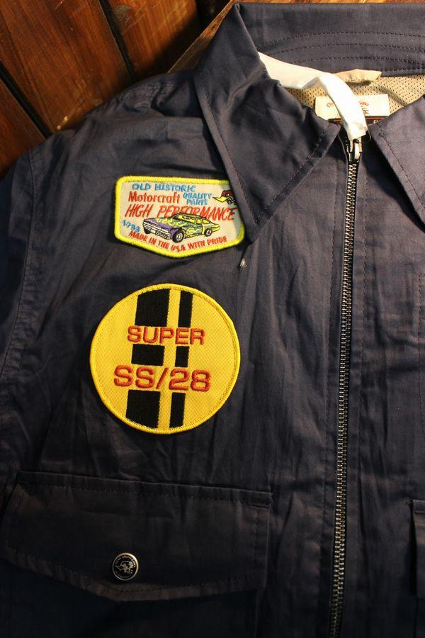 CLAY SMITH(クレイスミス) CSY-0601 GARTER ワークジャケット ネイビー