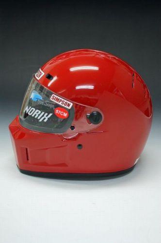 《シールドサービス》シンプソンヘルメット スーパーバンディット13 《SIMPSON SB13》 レッド