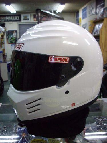 シールドサービス!シンプソンヘルメット アウトロー 《SIMPSON OUTLAW》