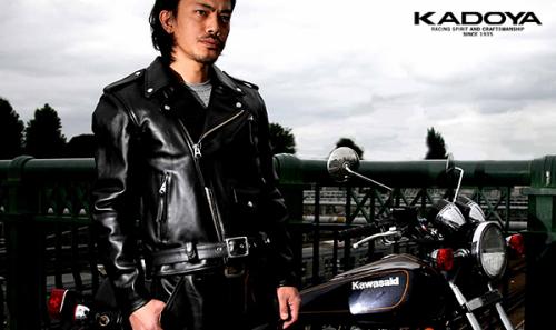 カドヤ(KADOYA) FPW-1 ダブルライダース レザージャケット W革ジャン