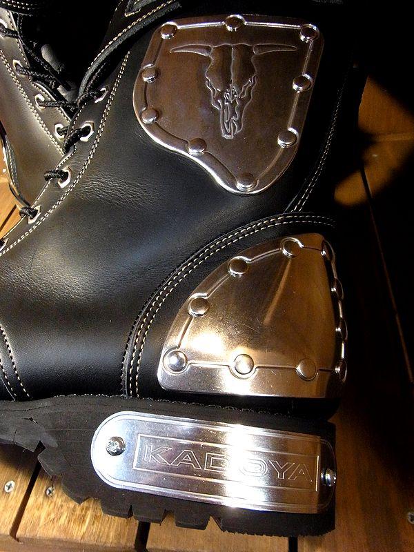 カドヤ(KADOYA) ゴッドスピード HAMMER BOOTS SHORT ハンマーブーツショート ライダースライディング日本製