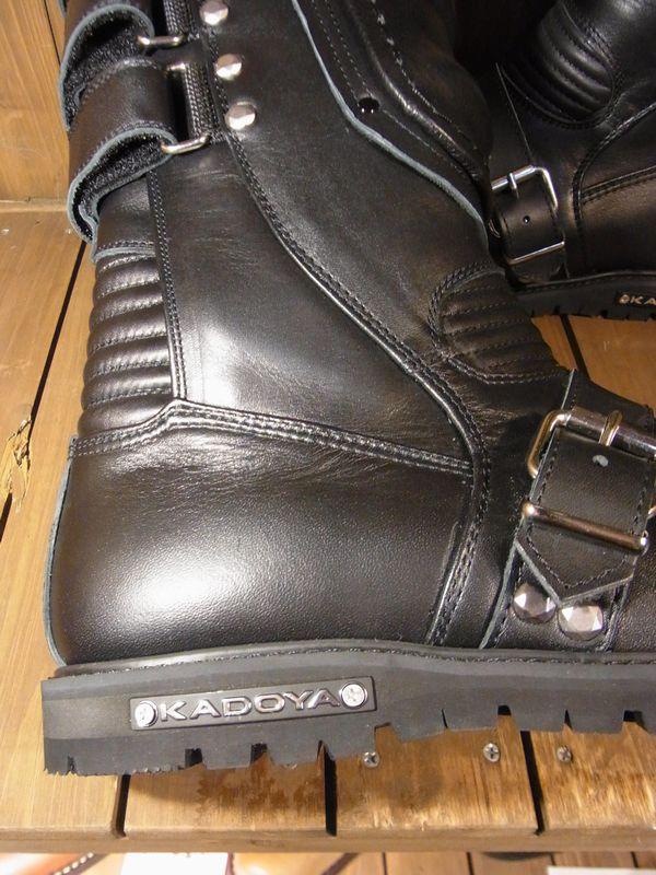 カドヤ(KADOYA) BLACK SHIELD ブラックシールド ライダース ライディングブーツ 日本製