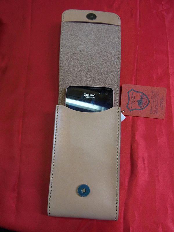 エフ商会 TEDMAN(テッドマン) TSPC-400 テッドマンの刻印入りスマートフォンケース