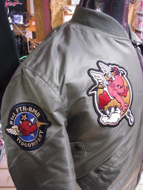 エフ商会 TEDCOMPANY テッドマン フライトジャケット MA-1 TMA-380
