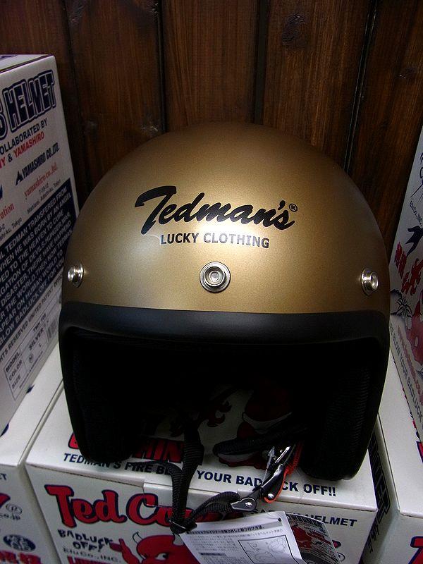 エフ商会 TEDMAN(テッドマン) TMH-11 ジェットヘルメット