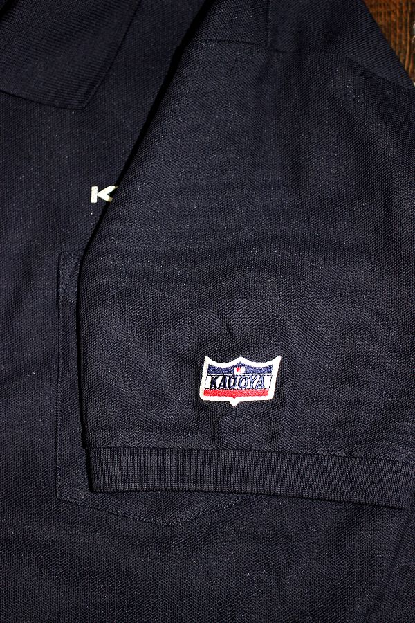 KADOYA(カドヤ) K'S PRODUCT KADOYA POLO SHIRT ポロシャツ ネイビー