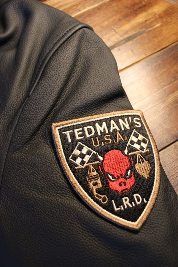 TEDCOMPANY エフ商会 TEDMANテッドマン 限定販売 TDRJ-12000 DEVIL M.C レザージャケット