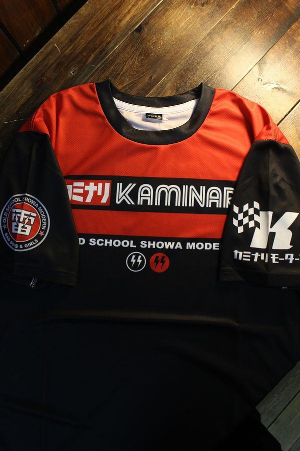 エフ商会 カミナリ  KDRYT-05 ジーエス1000ドライTee GS1000 クーリーレプリカ Tシャツ ブラック