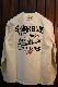 エフ商会 カミナリ KMLT-192 サメブル 610 ブルーバード G6 長袖Tシャツ オフホワイト